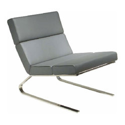 Ethan Lounge Chair, Grey