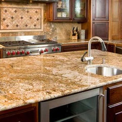 traditional kitchen countertops by Accent Surfaces
