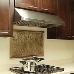 Kobe - Kobe CHX9130SQB-1 30W in. CHX191 Series Under Cabinet Range Hood Multicolor - CH - Shop for Hoods and Accessories from Hayneedle.com! Small in scale yet big in style this gourmet hood is ideal for any remodeling projectQuietMode setting allows hood to operate at 300 CFM at a reduced sound level of 40 decibels (1.0 sone); other hoods operate at 6-8 sones at that CFM level2 high-efficiency 3W LED bulbs save energy and provide brilliant light for safe cookingProfessional baffle filters trap grease effectively and are easy to cleanDucting options: Top 6-inch round Top 3.25 x 10 in. rectangular or Rear 3.25 x 10 in. rectangularAbout KOBE Range HoodsA world leader in quiet kitchen ventilation Kobe Range Hoods are designed by the Japanese-based Tosho & Company Ltd. Their products feature revolutionary QuietMode technology inspiring their motto: So Quiet You Won't Believe It's On! The result of extensive research and development the innovative QuietMode feature allows you to operate your range hood without irritating fan noise while cooking or entertaining guests in the kitchen. Kobe Range Hoods has been providing quality products and exceptional customer service in the United States and Canada for over 40 years.