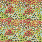 Amy Butler Soul Blossoms Bliss Peacock Bright Pear - Peacocks that look like flowers! Another bonus, these Amy Butler fabrics are also super affordable!