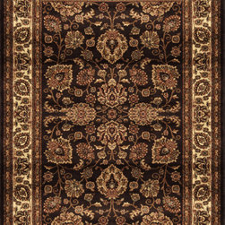 """Home Dynamix - Home Dynamix Rug, Brown, 3' 6"""" x5' 2"""" - The Marquis collection from Home Dynamix"""