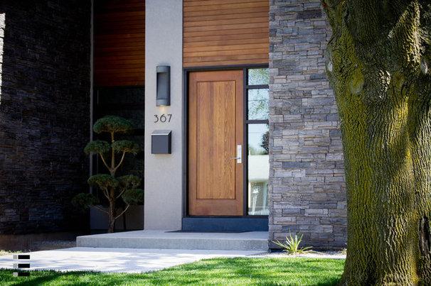 Modern Entry by Element Design Build Inc.