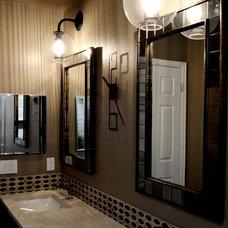 Contemporary Bathroom Lighting And Vanity Lighting by Midori Yoshikawa Design Group