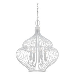 Quoizel Lighting - Fixture ChandelierQuoizel Fixture Collection - Foyer fresco 4lts