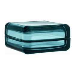 "Vitriini Box 4.25"" x 4.25"" Sea Blue"