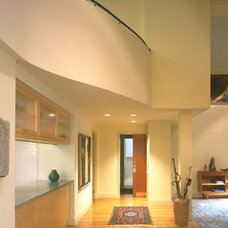 Eclectic Entry by Abelow Sherman Architects LLC
