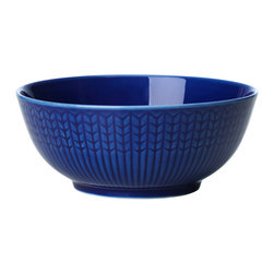 iittala Swedish Grace Rice Bowl 10oz Sea - A design classic in six colours. This tableware still evokes the same emotions as when it was unveiled at the Stockholm Exhibition in 1930. Louise Adelborg succeeded in conveying the sensation of ears of wheat swaying in the summer breeze.