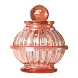 Dreams - Short Bottle Lamp, Shell Pink - An antique glass-tasted bottle emitting light will create a healing space. We have produced this LED room light that flickers like a candle. A lovely room light to produce your relaxing time. Auto turn off after one hour.