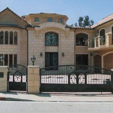 Mediterranean Exterior by LA Design Build