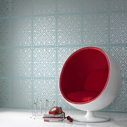 contemporary wallpaper by Design Public