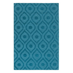 "Artistic Weavers - Artistic Weavers Central Park Zara (Teal) 5' x 7'6"" Rug - This Hand Woven rug would make a great addition to any room in the house. The plush feel and durability of this rug will make it a must for your home. Free Shipping - Quick Delivery - Satisfaction Guaranteed"