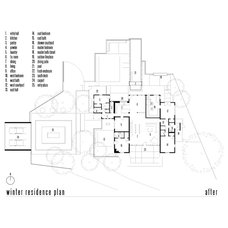 Traditional Floor Plan by Ibarra Rosano Design Architects