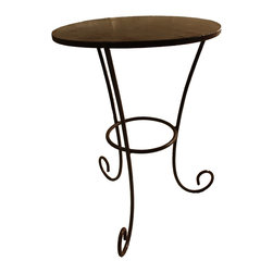 World Peaces - Mission Table - Fair Trade Metal work side table from Mexico.