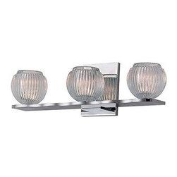 Hudson Valley Lighting - Hudson Valley Lighting 3163 Odem 3 Light Xenon Bathroom Vanity Light - Product Features:
