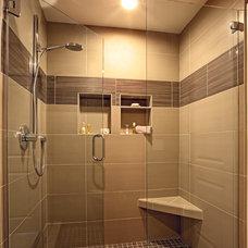 Transitional Bathroom by Design Loft Company