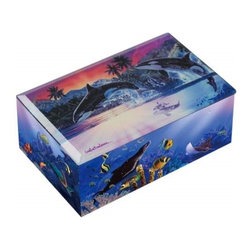Westland - Killer Whales Breaching Water World of Orcas Colorful Music Box - This gorgeous Killer Whales Breaching Water World of Orcas Colorful Music Box has the finest details and highest quality you will find anywhere! Killer Whales Breaching Water World of Orcas Colorful Music Box is truly remarkable.