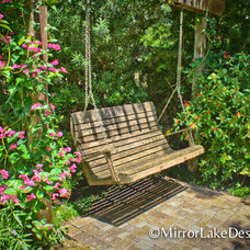 Traditional Patio by Mirror Lake