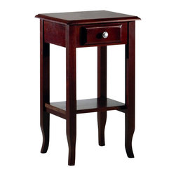 Office Star - Office Star Phone Stand in Merlot - Office Star - End Tables - ME04 - OSP Designs Phone Stand
