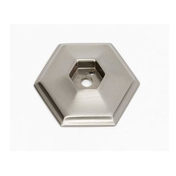Alno Inc. - Alno Creations 1 1/2 Inch Backplate Satin Nickel A426-Sn - Alno Creations 1 1/2 Inch Backplate Satin Nickel A426-Sn