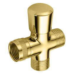 Delta - Delta 50650-PB Delta 3-Way Shower Arm Diverter for Handshower (Polished Brass) - With its large assortment of accessories and styles, the Delta series is sure to have the perfect combination of products for any application.