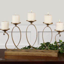"19592 Argento, Candelabra by uttermost - Get 10% discount on your first order. Coupon code: ""houzz"". Order today."