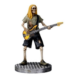 Summit - Skull Bass Player - Collectible Figurine Statue Sculpture Figure Model - This gorgeous Skull Bass Player - Collectible Figurine Statue Sculpture Figure Model has the finest details and highest quality you will find anywhere! Skull Bass Player - Collectible Figurine Statue Sculpture Figure Model is truly remarkable.
