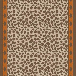 """Surya - Surya Nantes NAN-8002 3'3"""" x 5'3"""" Burnt Orange, Mocha Rug - This Hand Woven area rug would make a great addition to any room in the house. The plush feel and durability of this area rug will make it a must for your home."""