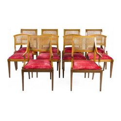 Beacon Hill Cane Back Dining Chairs - Set of 6
