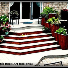 Traditional Deck by Patio Deck-Art