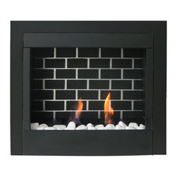 "Paramount - 23"" Retrofit Gel Fuel Fireplace Insert - Our(ETL certified) Ventless Gel Fireplaces provide the warmth and cozy atmosphere of a fire without the mess or expense of traditional fireplaces. No venting, chimney or expensive gas hook-up is required to enjoy your gel fuel fireplace. They are recommended for use with Paramount Eco Logo ethanol indoor gel fuel. EcoLogo® is North America's oldest and most trusted environmental leadership certification mark Paramount gel fuel is simple,safe and effective. Gel Fireplaces are one of the fastest growing trends in green alternative heating solutions. Easy to install & portable - enjoy your gel fireplace from room to room. Dimensions: 28.5""W x 8.9""D x 20.25""H"