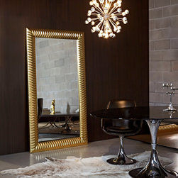 Decora Nick Gold Mirror - Deknudt Mirrors -