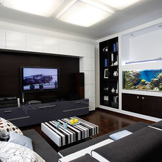 Modern Home Theater by Natalia Skobkina