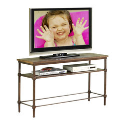 Riverside Furniture - Riverside Furniture Casa Grande Console Table/TV Stand in Saltillo Ash - Riverside Furniture - Console Tables - 66515 - Riverside's products are designed and constructed for use in the home and are generally not intended for rental, commercial, institutional or other applications not considered to be household usage.