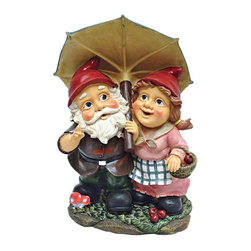 EttansPalace - Italian Gnomes Home Garden Statue Sculpture - When you could use a little gnome magic in a garden flowerbed or vegetable plot, our Garden Gnome Statue is at the ready! Sporting pointy red elf hats and full gnome attire, these exclusive garden Gnomes extend a warm welcome to all visitors to your home or garden. Imaginatively sculpted, our quality designer resin garden gnome figurine is lovingly made of quality designer resin and then hand-painted one piece at a time by skilled artisans.