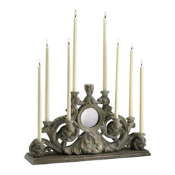 "European Taper Multi Candle Holder - *28.25""W x 16.75""H"