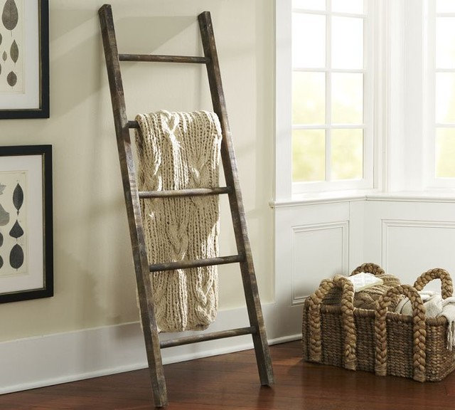 Eclectic Ladders And Step Stools by Pottery Barn