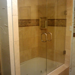 Frame less Shower Enclosure -