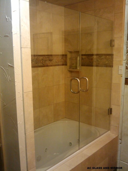 Traditional Showers by AC GLASS