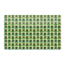 """Kess InHouse - Holly Helgeson """"Vintage Telephone"""" Green Pattern Aluminum Magnet - Decorate your fridge, locker or cubicle at work with small aesthetic pops of color. Made of a durable aluminum, these premium magnets are hand pressed and measure 3"""" x 2"""". Great for holding up to do lists, photos or coupons, these small pieces of art can make your fridge your own personal gallery."""