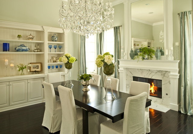 Eclectic Dining Room by Alexandra Rae Design