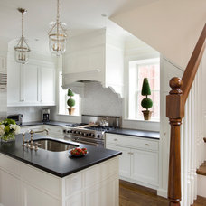 Traditional Kitchen by JW Construction