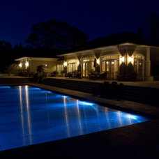 Modern Swimming Pools And Spas by Covertech - rigid automatic pool cover