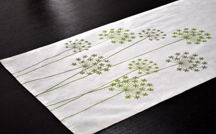 Contemporary Table Runners by Etsy