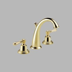 Brizo - Brizo - Providence: Two Handle Widespread Lavatory Faucet-6520LF-BBLHP - Less Handles