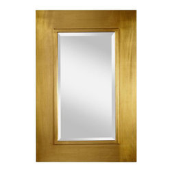 Murray Feiss - Antique Gold Mirror - Item Weight: 15.6 lbs.