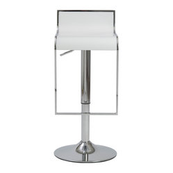 Fortuna Bar Counter Stool Wht Chrm When You Gaze At This