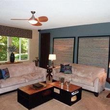 Modern Family Room by Nestology Interiors