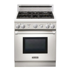 "Thermador 30"" Pro Harmony Gas Range, Stainless Steel Natural Gas 