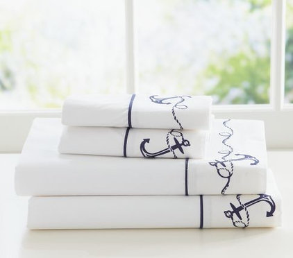 Contemporary Sheet And Pillowcase Sets by Pottery Barn Kids