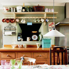 Eclectic  Recipe for a Cozy Kitchen: Hanging a Cup Collection | Apartment Therapy Chicago